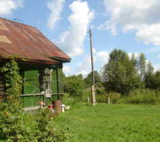 Специалисты компании на замере участка Тверская область Калининский район Бельцы все работы произведены