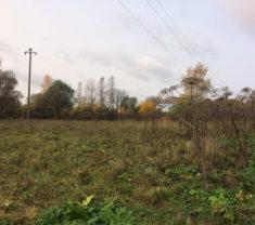 Сотрудники организации на замере участка Тверская область Калининский район Эммаусс клиенты организации довольны