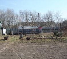Инженеры компании на замере участка Тверская область Калининский район Глазково клиенты компании довольны