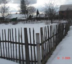 Сотрудники Меридиан Тверь на замере участка Тверская область Калининский район Князево делают работу