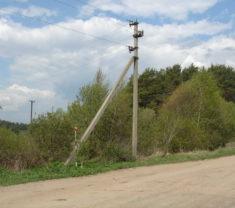 Инженеры компании Меридиан на выезде Тверская область Калининский район Митенево выполнили работу