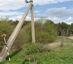 Инженеры Меридиан Тверь на замере участка Тверская область Калининский район Митенево все работы произведены