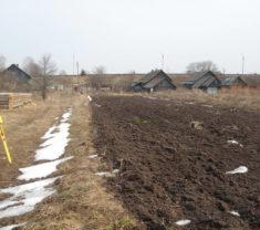 Сотрудники компании Меридиан в работе Тверская область Калининский район Слобода все работы произведены
