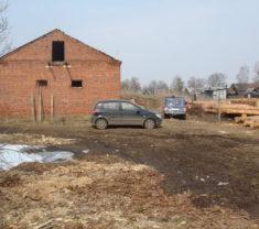 Сотрудники фирмы Меридиан на выезде Тверская область Калининский район Слобода выполняют работу