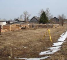 Инженеры Меридиан на обмере Тверская область Калининский район Слобода выполнили работу