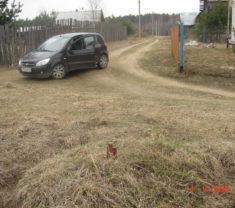 Инженеры Меридиан Тверь на замере участка Тверская область Калининский район снт Фенино все работы произведены
